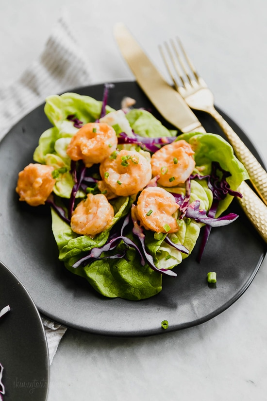 Bangin Good Shrimp from skinnytaste.com on foodiecrush.com