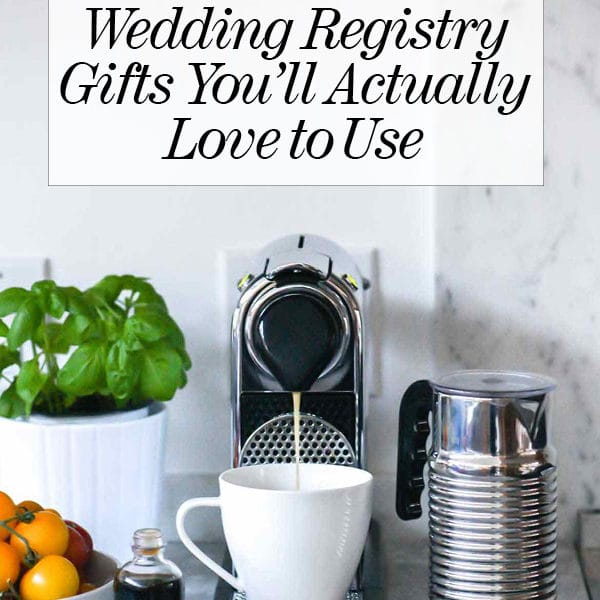 The Kitchen Wedding Registry Gifts You'll Actually Love to Use | foodiecrush.com
