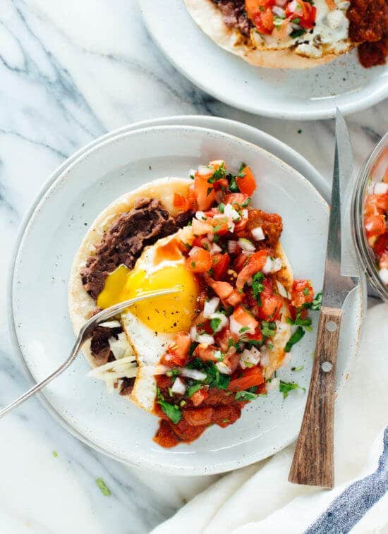 Fresh Huevos Rancheros from cookieandkate.com on foodiecrush.com