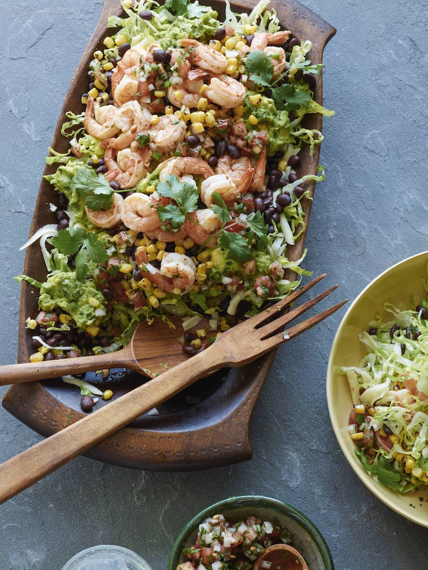 Mexican Cobb Salad from whatsgabycooking.com on foodiecrush.com