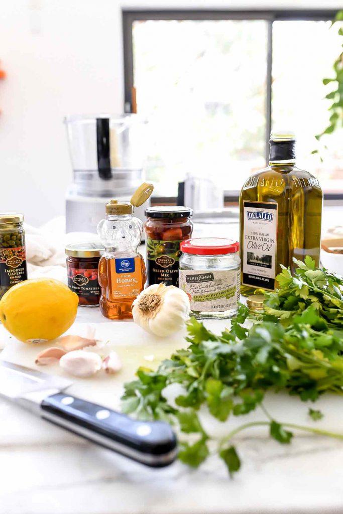 Mediterranean Olive Tapenade | foodiecrush.com #olives #bruschetta #dip #tapenade #mediterranean #recipes