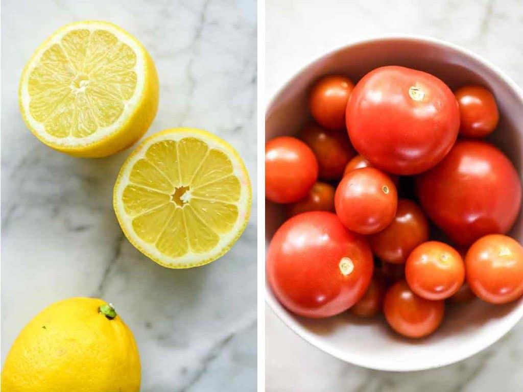 tomatoes and lemons foodiecrush.com #tomatoes #lemon
