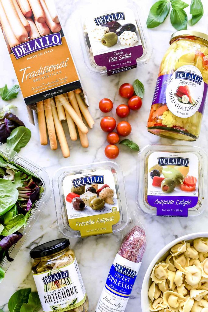 How To Make An Awesome Antipasto Salad Platter Foodiecrush Con