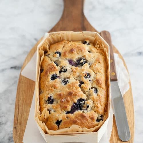 Oatmeal Blueberry Bread