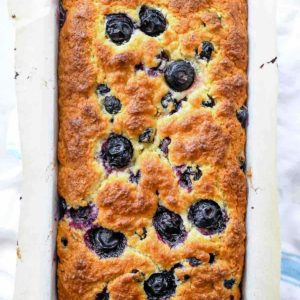 Blueberry Oatmeal Bread Recipe | foodiecrush.com #bread #sweet #blueberry #quick #easy #recipes