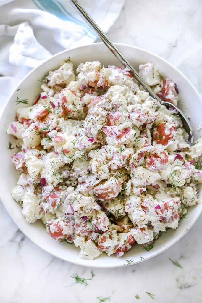 Potato Salad Recipe With Sour Cream And Dill