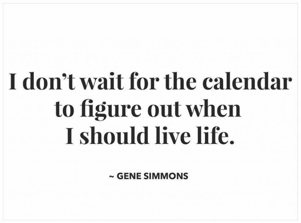 Gene Simmons quote | foodiecrush.com