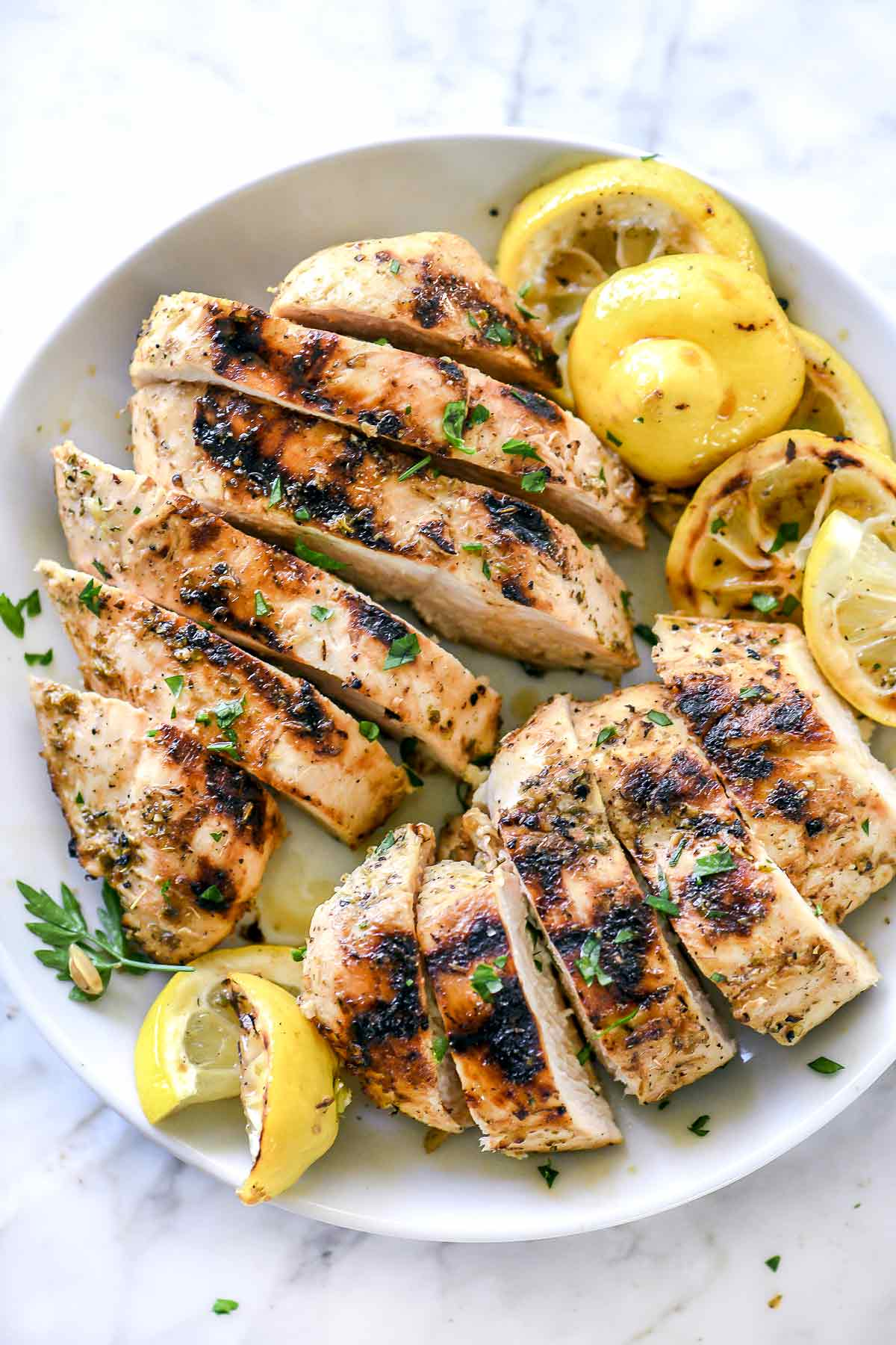 The Best Greek Chicken Marinade