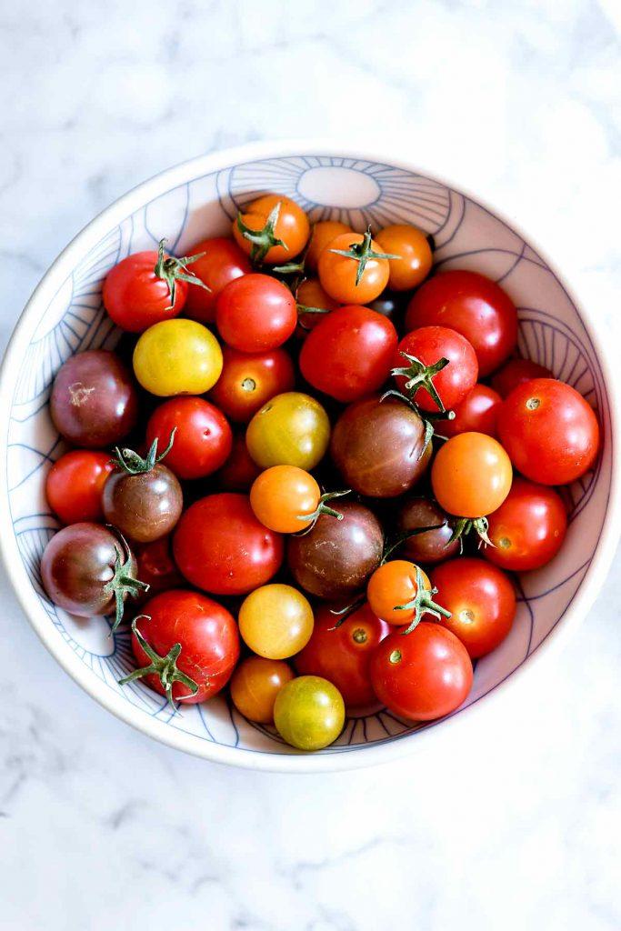 Cherry Tomatoes | foodiecrush.com