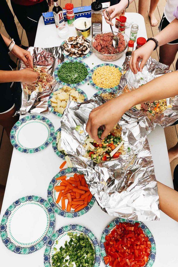 DIY Foil Packet Dinner foodiecrush.com
