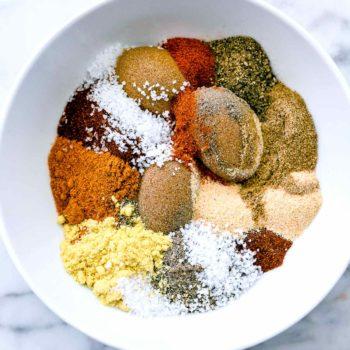 The Best Dry Rub for Ribs and Steak | foodiecrush.com #rub #ribs #steak #bbq #grill #marinade