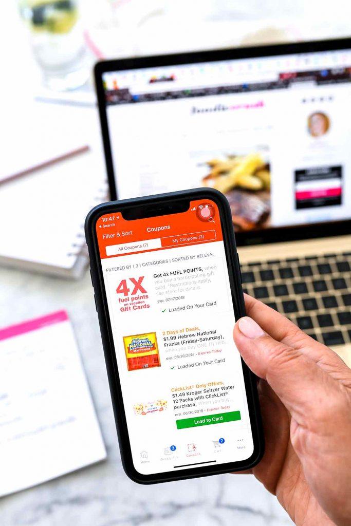 Kroger Mobile App | foodiecrush.com #kroger #mobile #app #grocery #online #clicklist