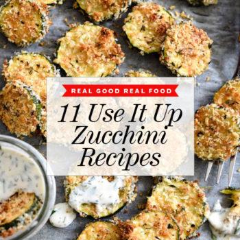 11 Use It Up Zucchini Recipes foodiecrush.com | #recipes #zucchini