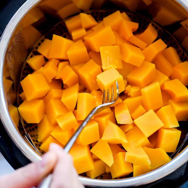 How to Cook Instant Pot Butternut Squash   foodiecrush.com   #butternut #squash #instantpot #pressurecooking #soup #recipes
