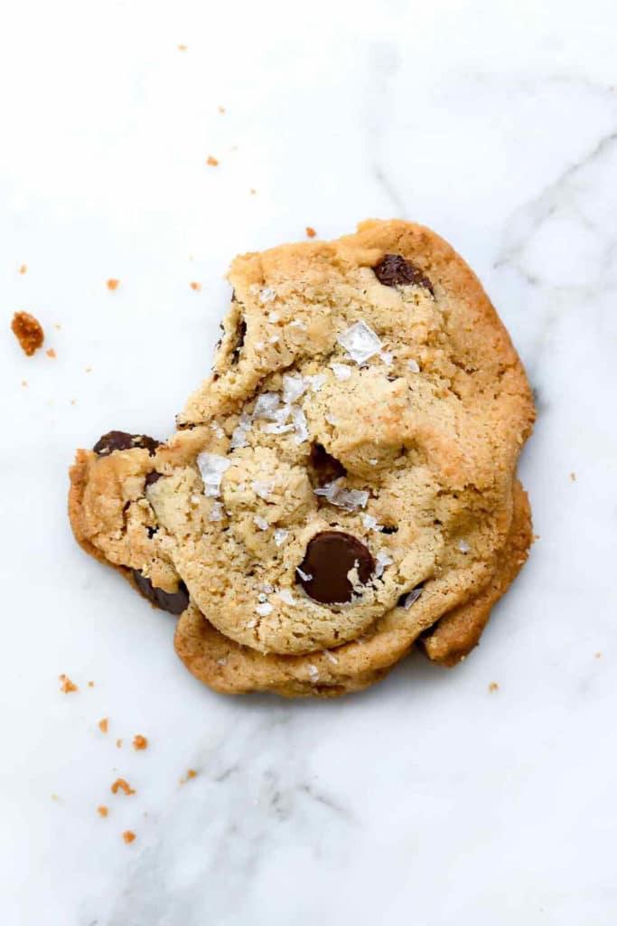 Milk Bar Salted Chocolate Chip Cookie | foodiecrush.com