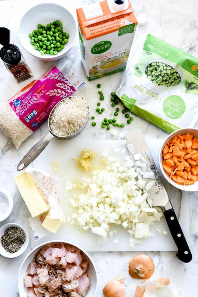 making creamy chicken casserole