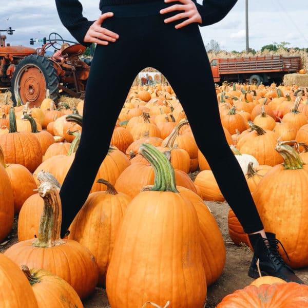 Ali Larsen pumpkin patch Petersen Farms RIverton Utah foodiecrush.com