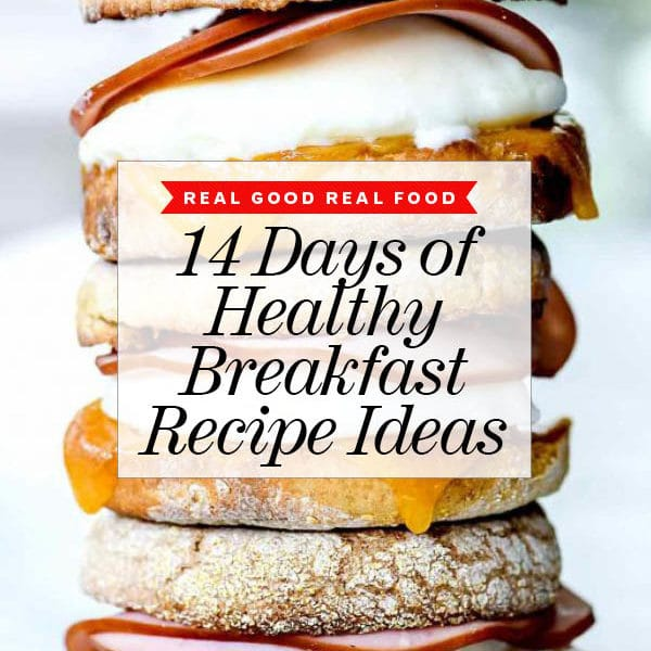 14 Days of Healthy Breakfast Ideas foodiecrush.com