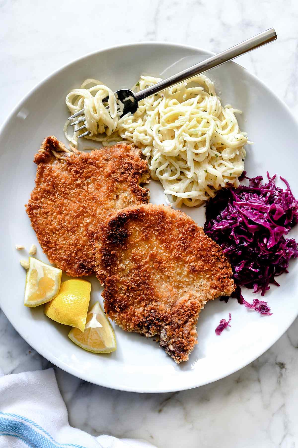My Grandma's Easy German Schnitzel Recipe
