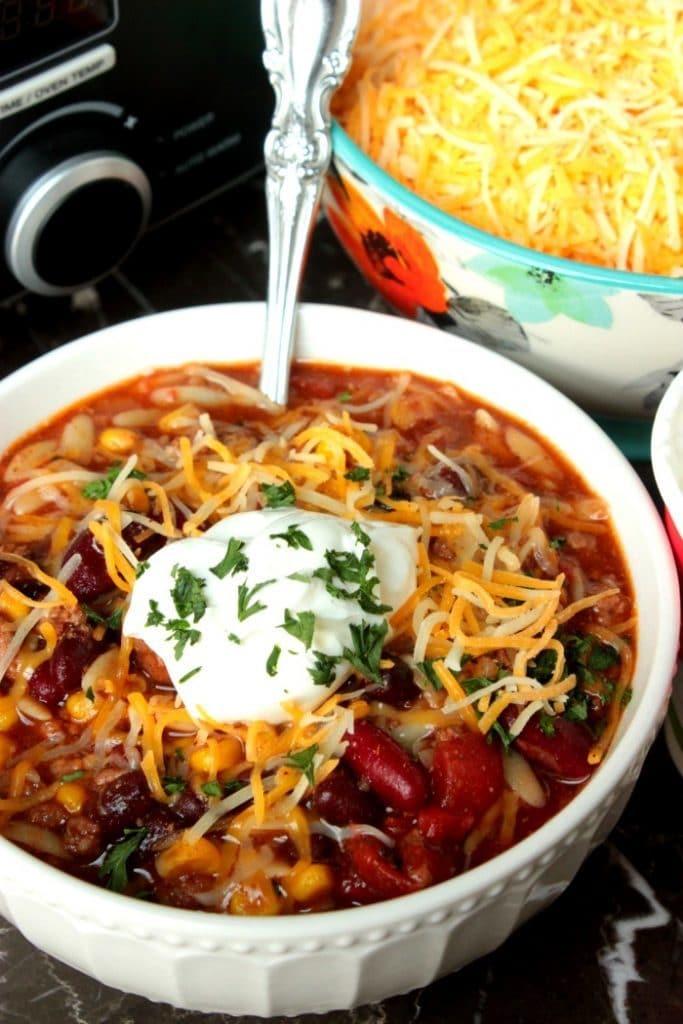 Soupe à la mijoteuse de la femme de Big Bear sur foodiecrush.com