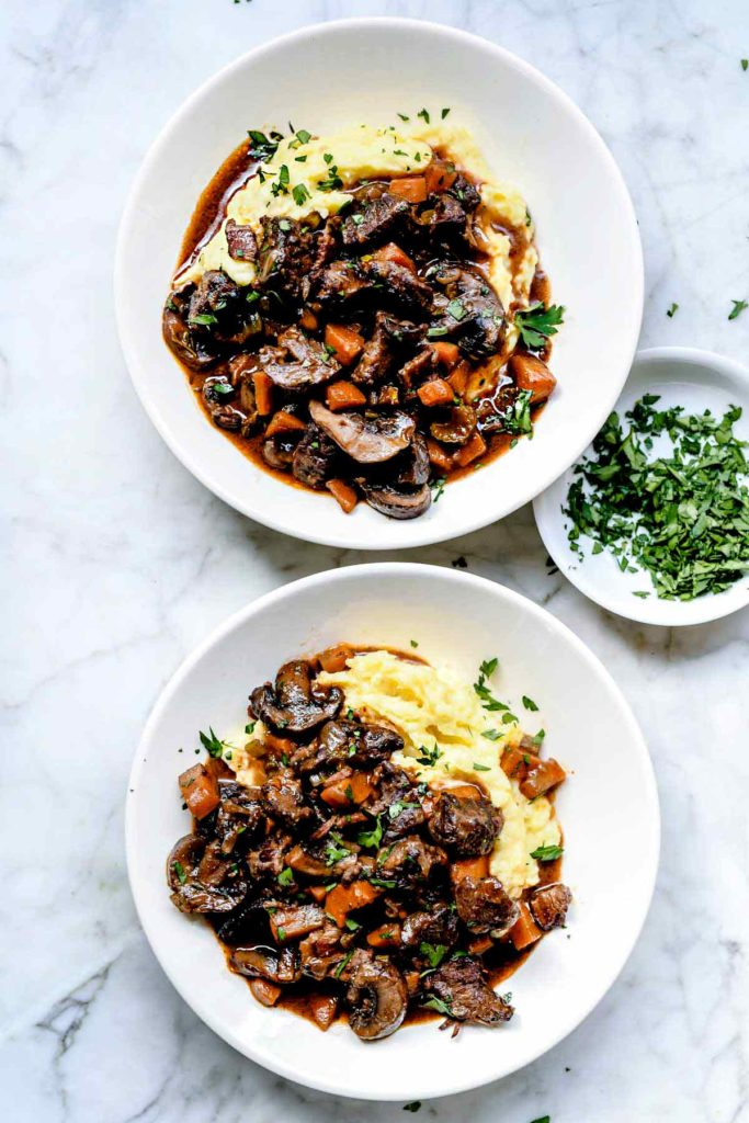 Classic Beef Bourguignon Recipe Foodiecrush Com