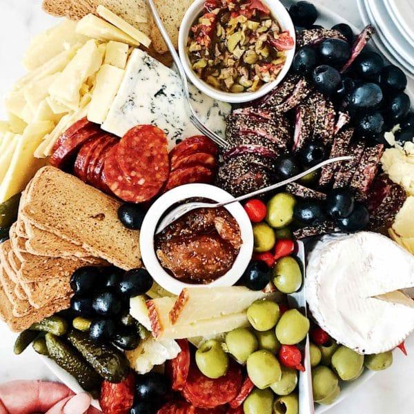 Cheese Plate foodiecrush.com