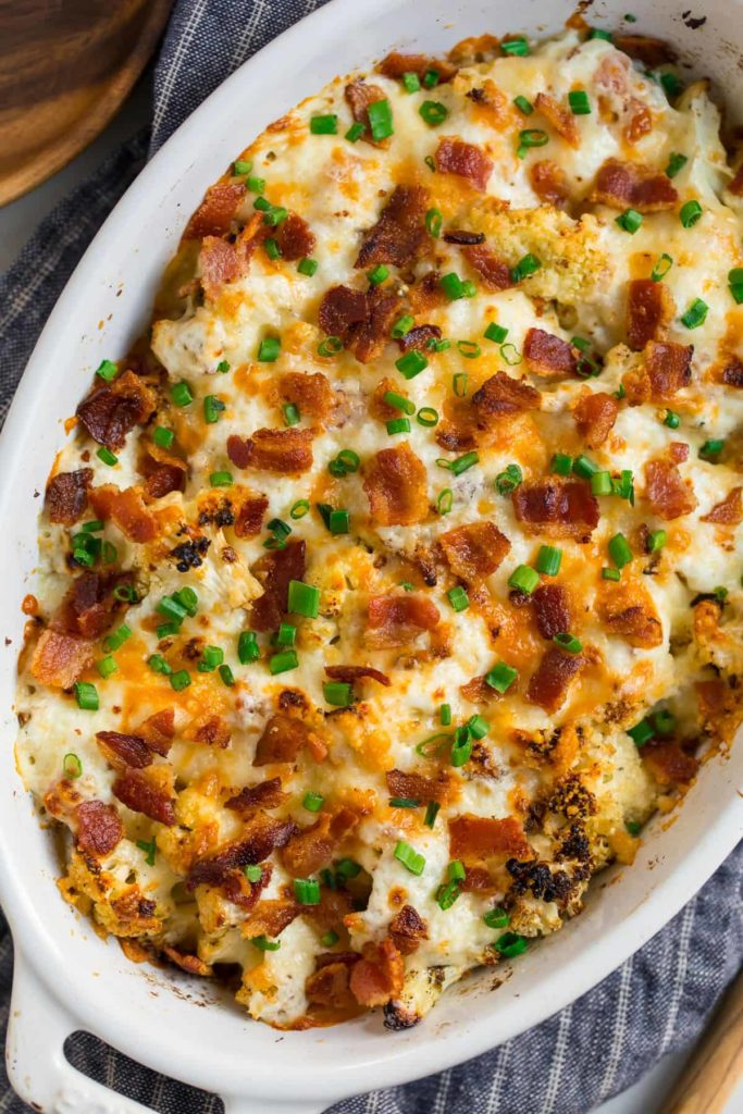 Cauliflower Casserole by Well Plated by Erin on foodiecrush.com