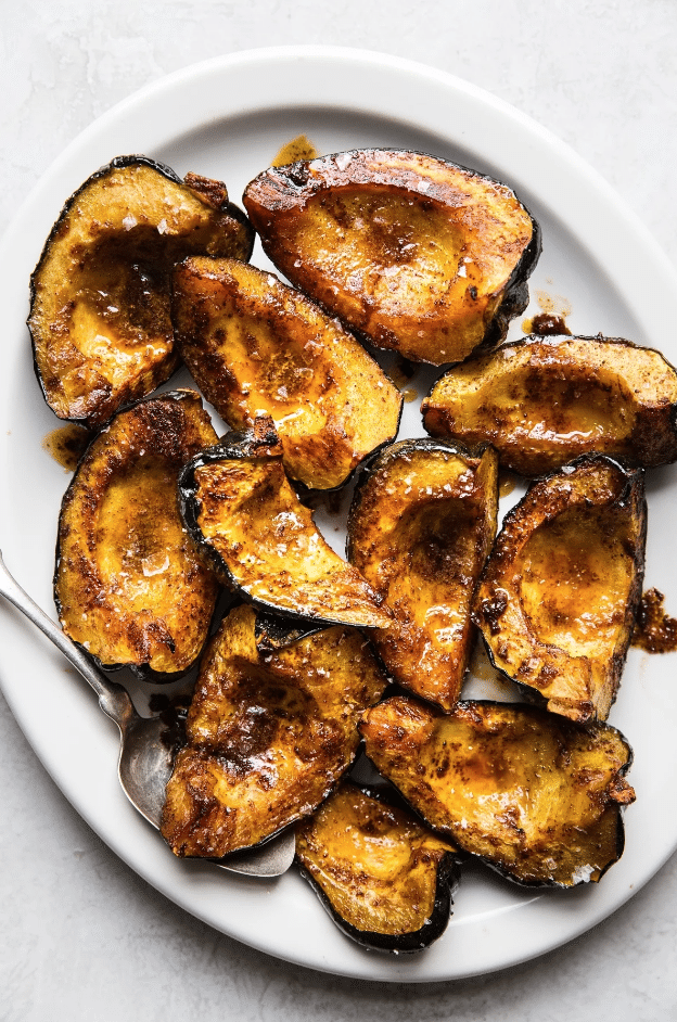 Roasted Acorn Squash from The Modern Proper on foodiecrush.com
