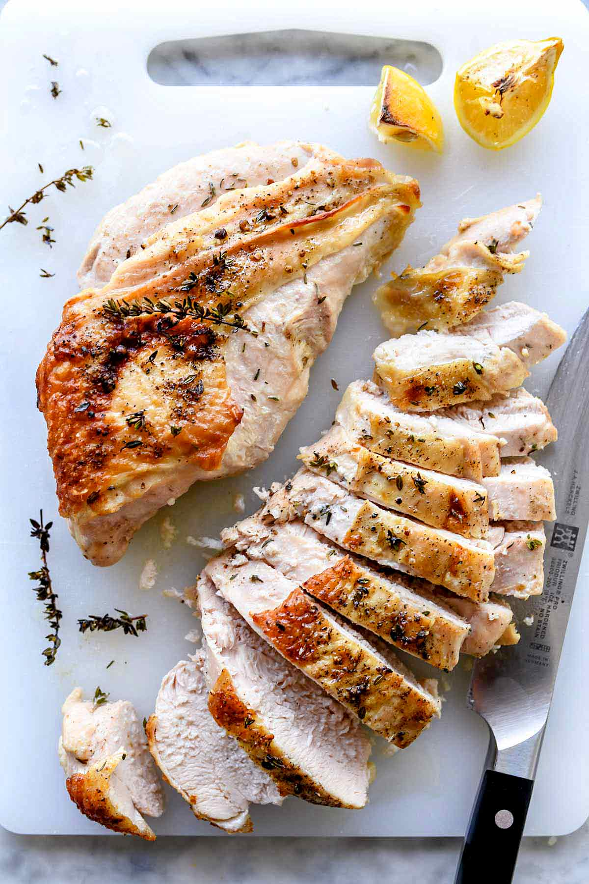 The Best Roasted Turkey Breast Recipe Foodiecrush Com