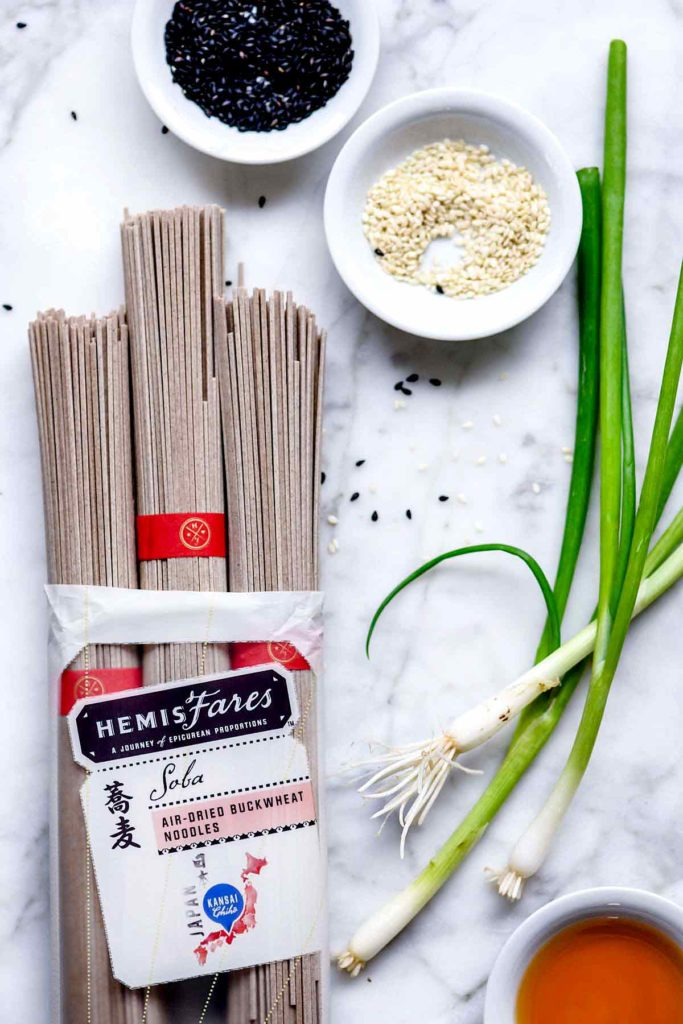 Soba Noodles | foodiecrush.com