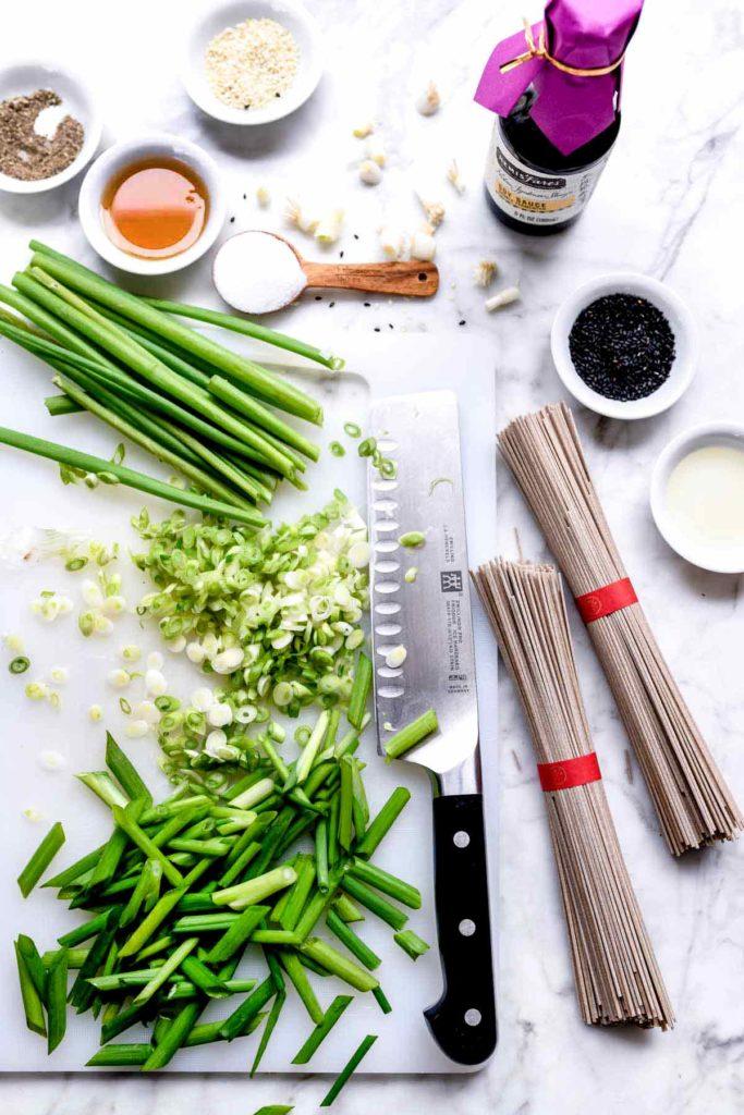Sesame Soy Dressing in bowl | familycuisine.net