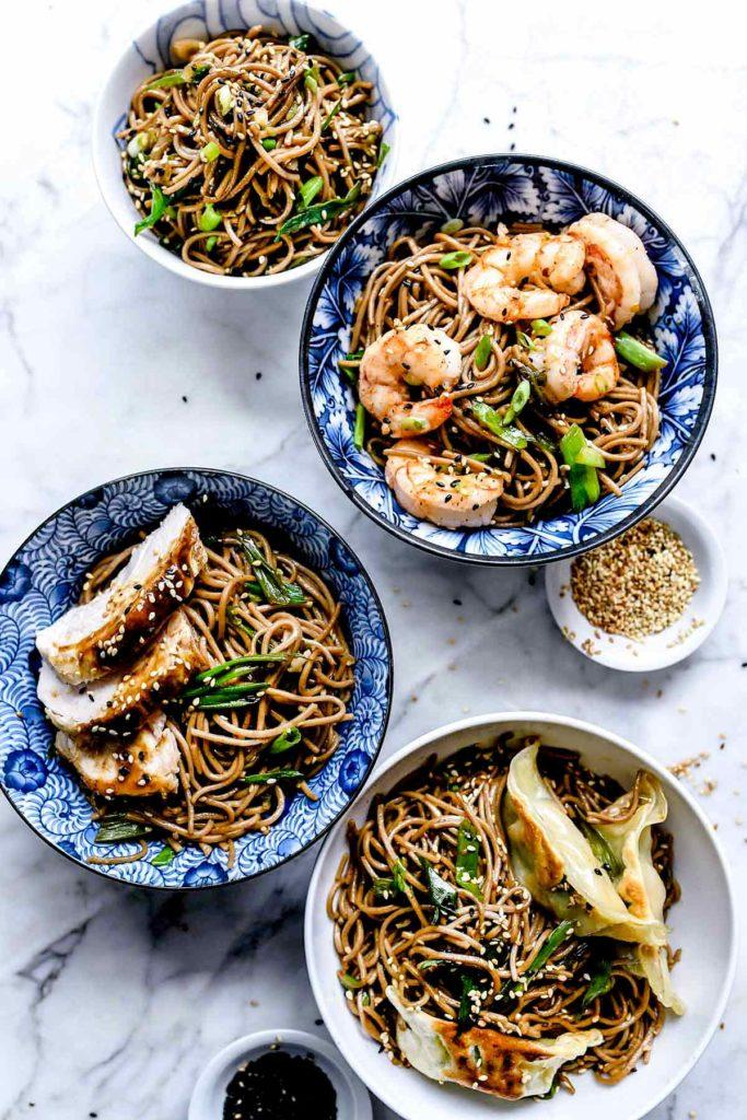 Sesame Soba Noodles Foodiecrush Com
