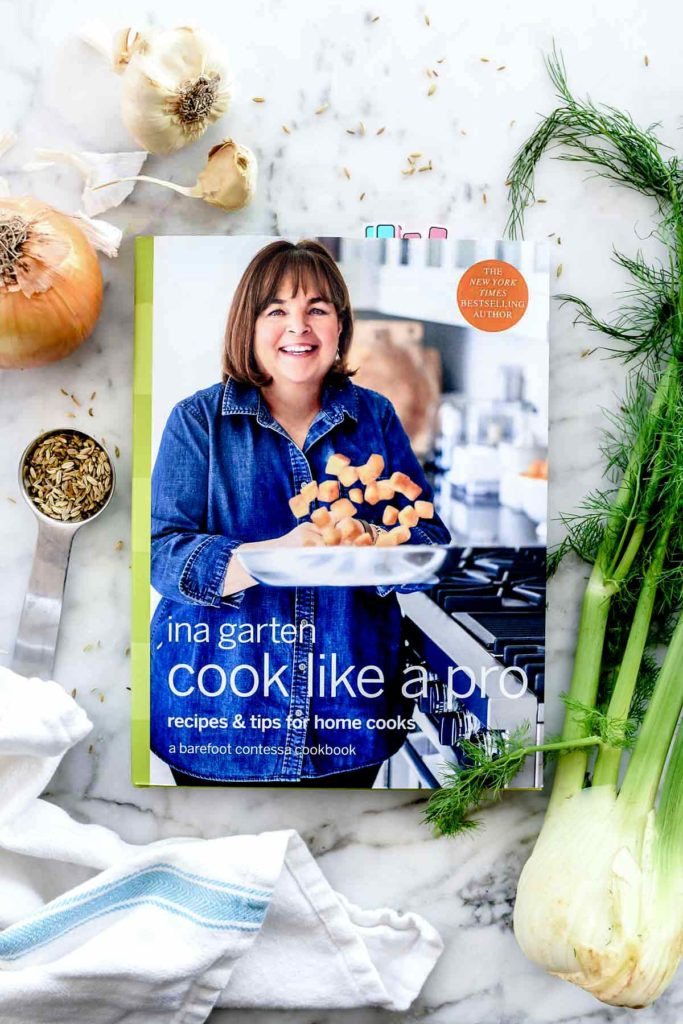 Ina Garten Cook Like a Pro Cookbook | foodiecrush.com #cookbook #barefootcontessa #inagarten