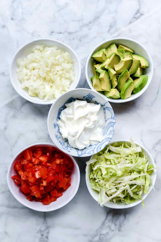 Taco Toppings | foodiecrush.com