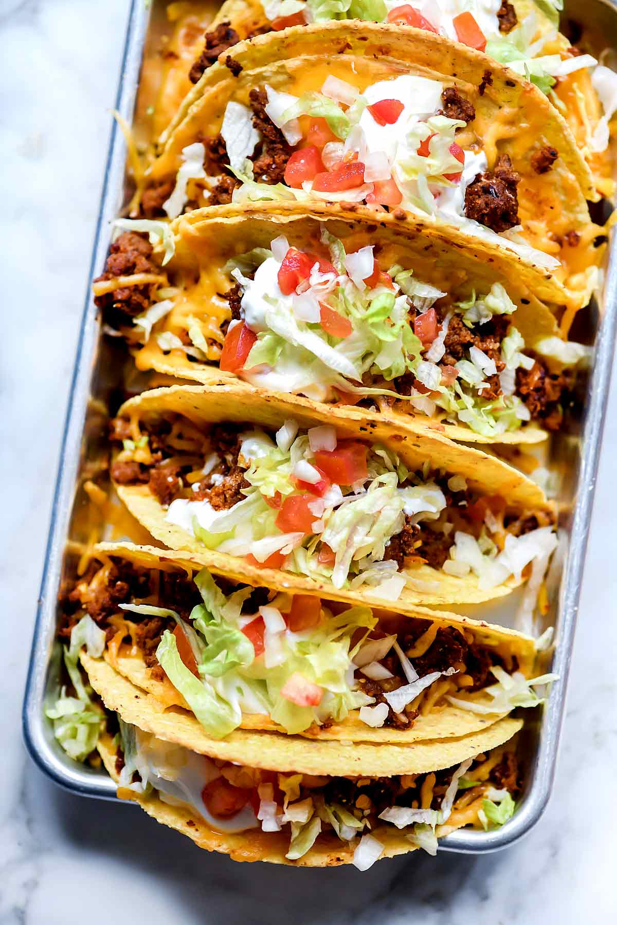 picture relating to Taco Bell Printable Application named Precisely Such as Taco Bell Tacos Recipe foodiecrush