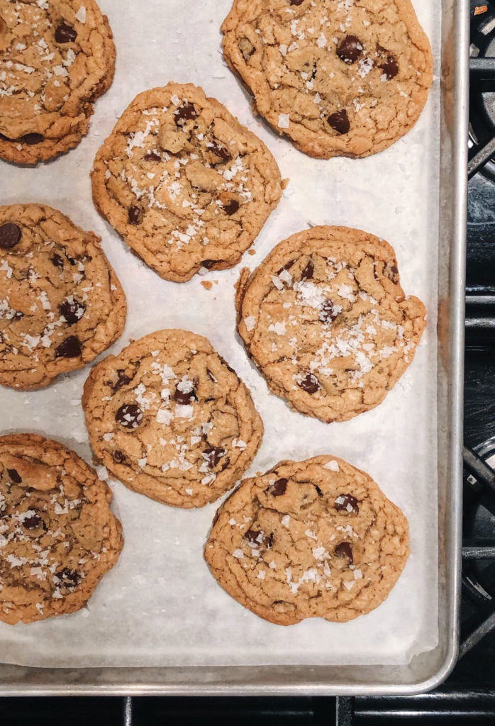 Chocolate Chip Cookies foodiecrush.com