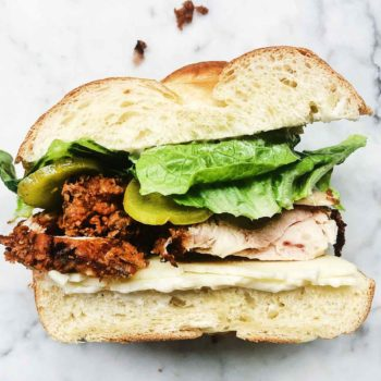 Fried Chicken Sandwich | foodiecrush.com