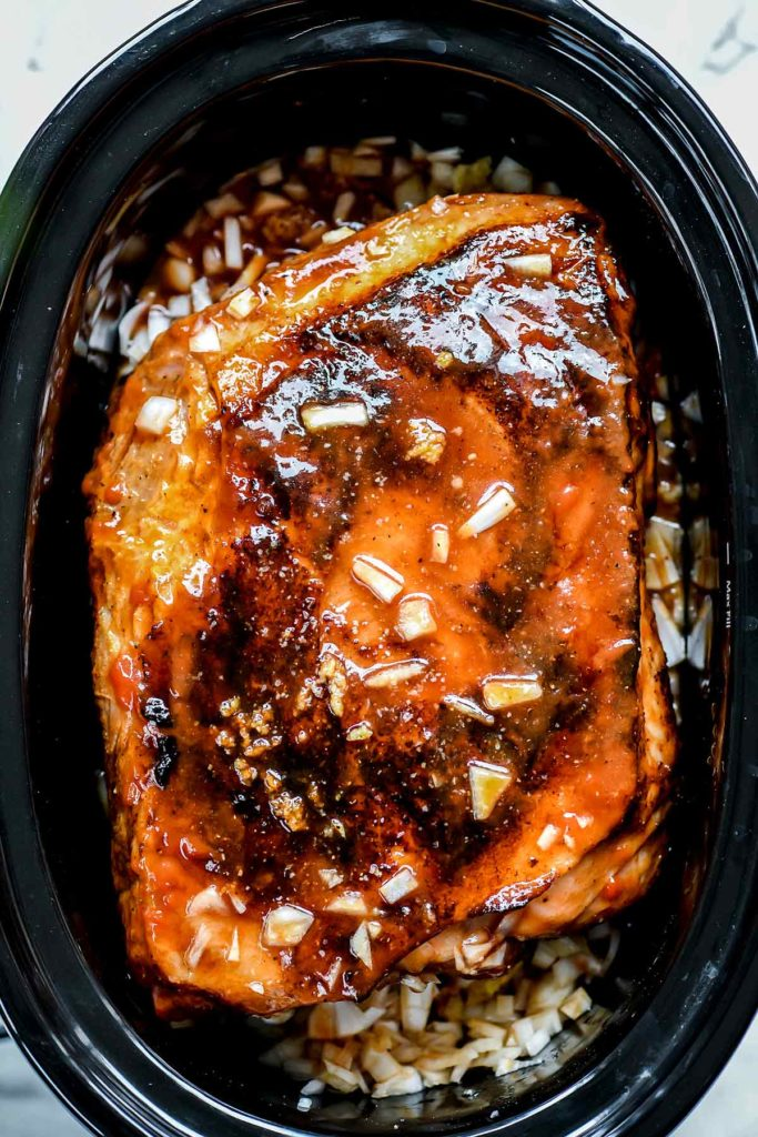 how to make pulled pork in the slow cooker