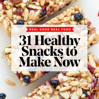 31 Healthy Snacks to Make Now foodiecrush #healthy #snacks $easy #recipes #weightloss #kids
