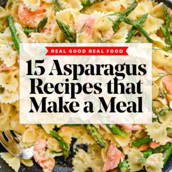 15 Asparagus Recipes | foodiecrush.com #asparagus #dinner #recipes #healthy