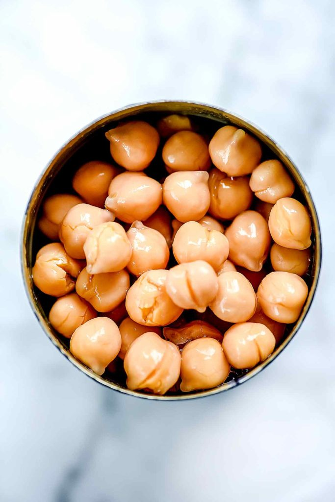 Can of Chickpeas | foodiecrush.com