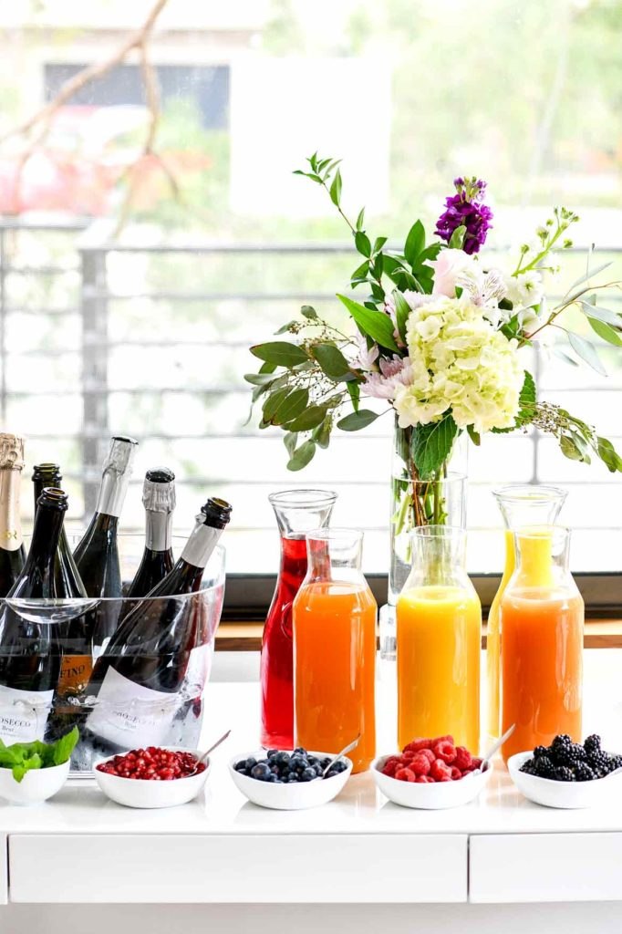 How To Set Up A Diy Mimosa Bar Foodiecrush Com