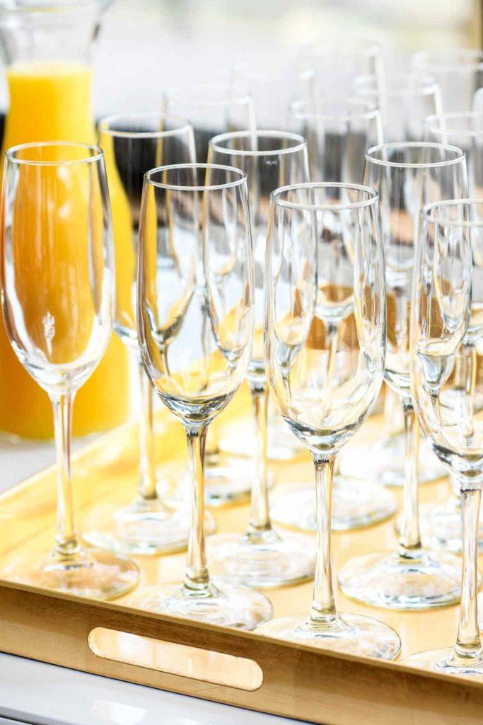Champagne glasses   foodiecrush.com