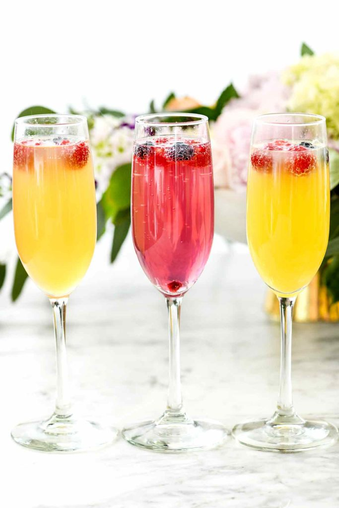 how many mimosas per bottle of champagne