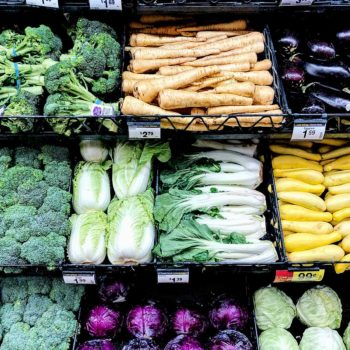 Produce at Grocery Store | foodiecrush.com