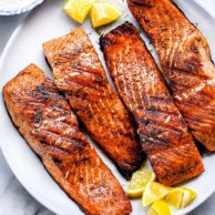 The Best Grilled Salmon | foodiecrush.com #salmon #recipes #grilled
