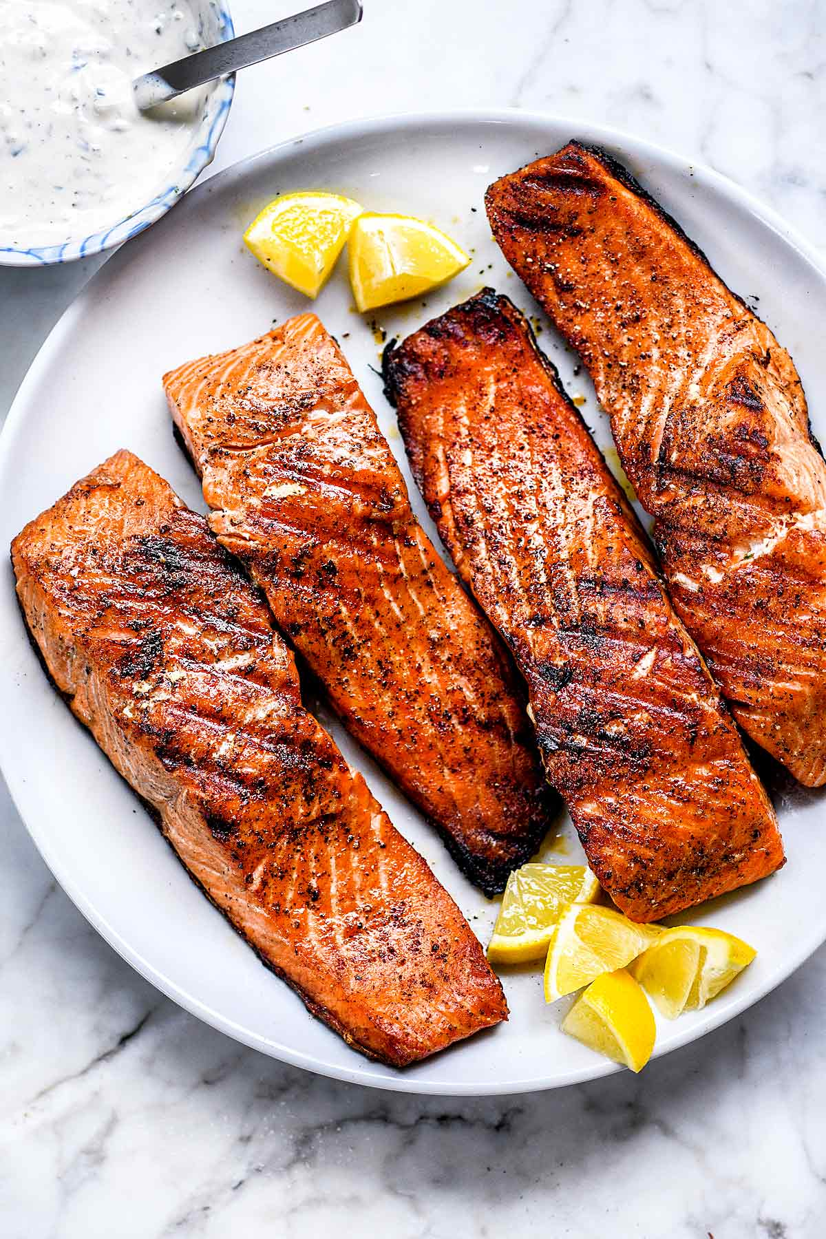 How To Make The Best Grilled Salmon Foodiecrush Com