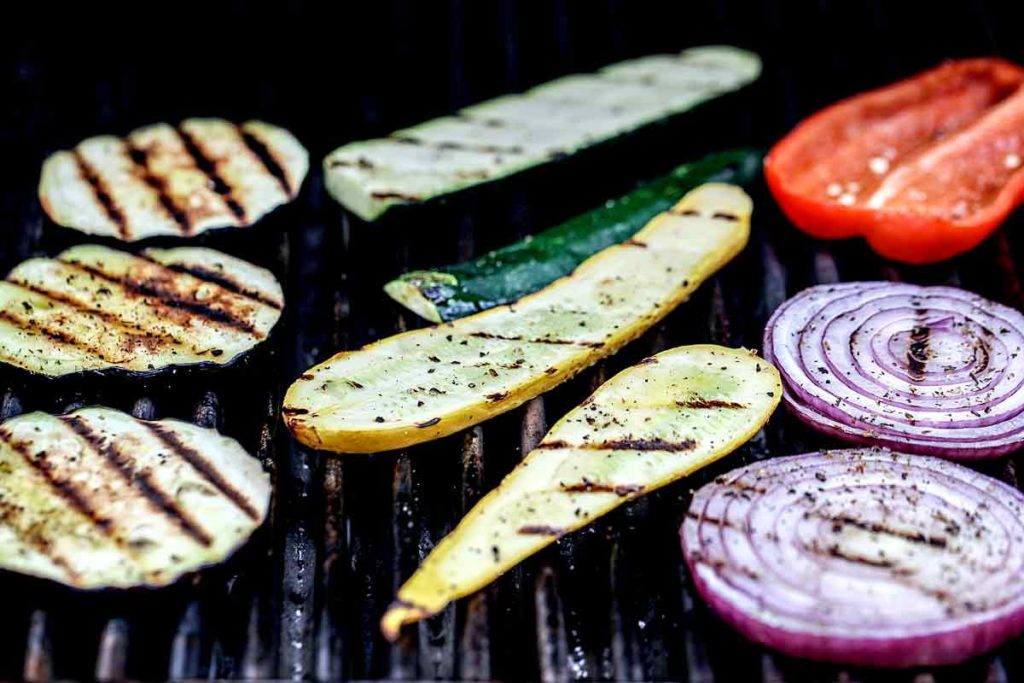 Grilled Vegetables | foodiecrush.com #vegtables #vegetarian #recipes #grill #healthy