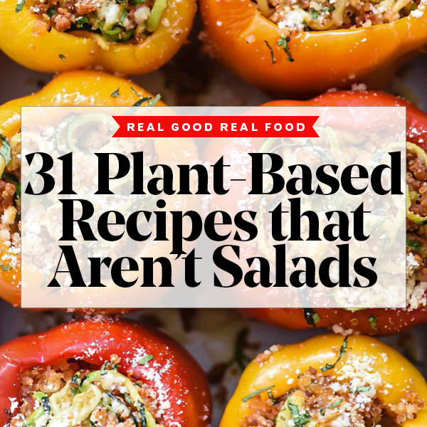 31 Plant Based Recipes That Aren't Salads | foodiecrush.com #recipes #dinner