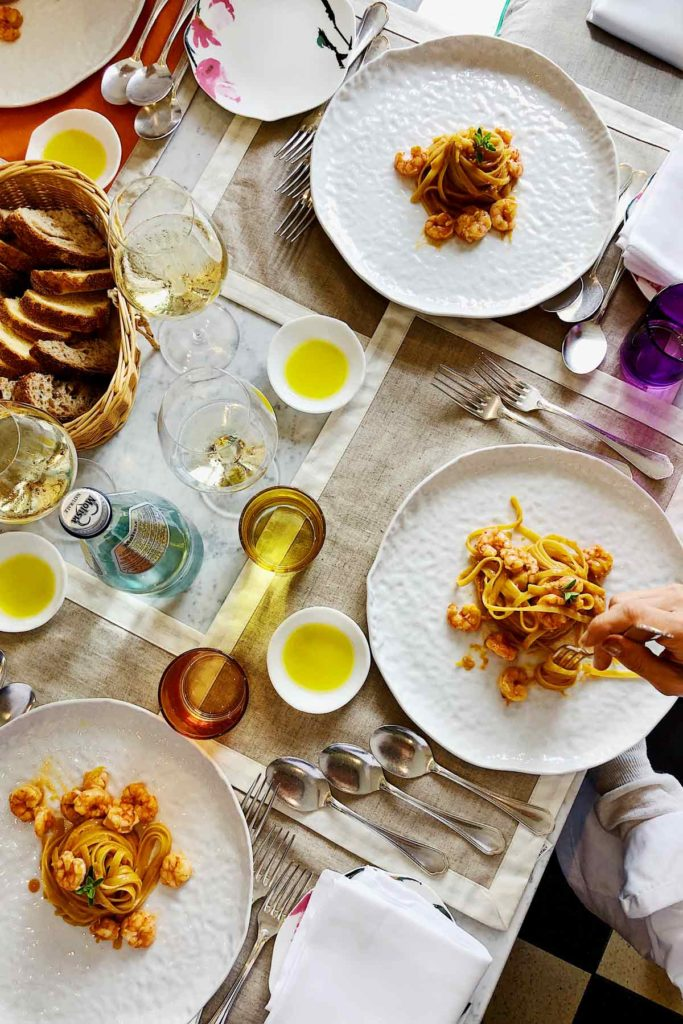 Shrimp Linguine foodiecrush.com